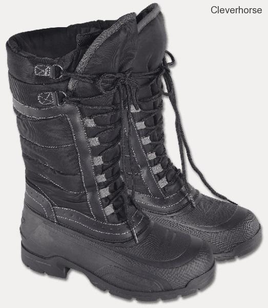 714a175bd33 Vysoké zimní jezdecké boty vel. 43